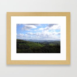 View from Orrest Head, The Lake District - Landscape and Nature Photography Framed Art Print