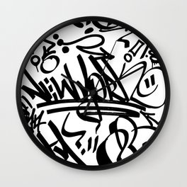 NY Street Wall Clock