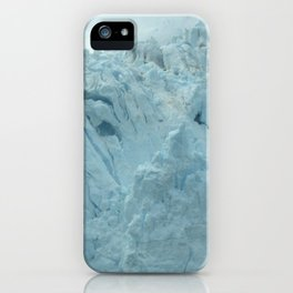 Glacier Beauty Up Close iPhone Case
