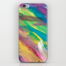 Abstract Artwork Colourful #2 iPhone Skin