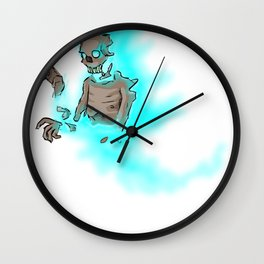 Soul Decaying Ghoul Wall Clock