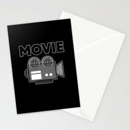 Movie Lover Stationery Cards