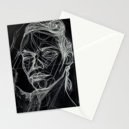 Donna Enigmatica #5; Vivien Solari #1 (B) - Artist: Leon 47 ( Leon XLVII ) Stationery Cards