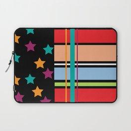 Star Stripe Pattern Laptop Sleeve