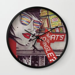 What's Your Angle? Wall Clock