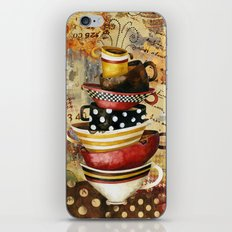 Coffee Cups Divine iPhone & iPod Skin