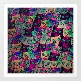 cats 41 Art Print