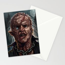 Jason Voorhees - Unmasked - Friday the 13th Stationery Cards