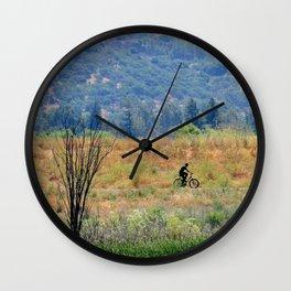 bike in beauty Wall Clock