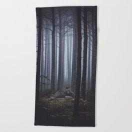 My Secret Garden Beach Towel