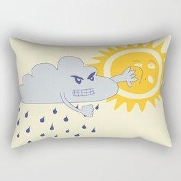 Agression Rectangular Pillow