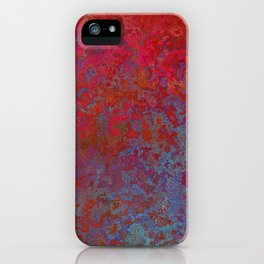 Rose-Petal Red iPhone Case