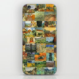 Vincent van Gogh Montage iPhone Skin