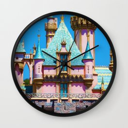 Sleeping Beauty Castle. Wall Clock