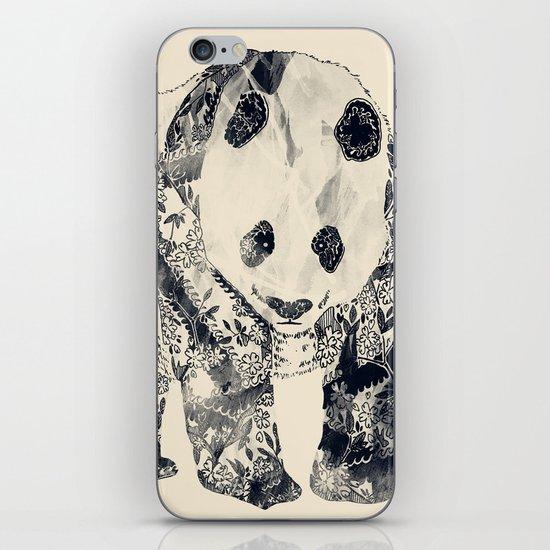 Tattooed Panda {cream} iPhone & iPod Skin