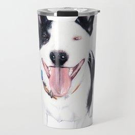 Staffy Luda Travel Mug
