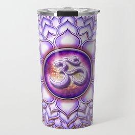 Sahasrara Chakra - Crown Chakra - Series I Travel Mug