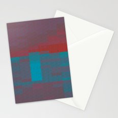 glitchscape Stationery Cards