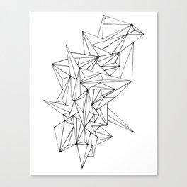 Geometric on the N Canvas Print