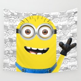 Minion and Friends Wall Tapestry