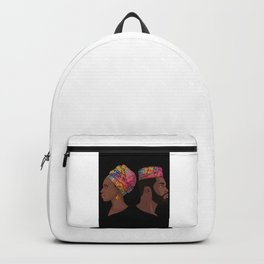 Afro Couple Goals Backpack