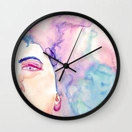 Burning Girl Wall Clock