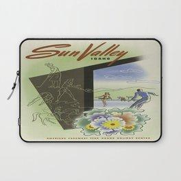 Vintage poster - Sun Valley, Idaho Laptop Sleeve