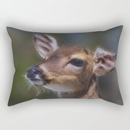 Key Deer Rectangular Pillow