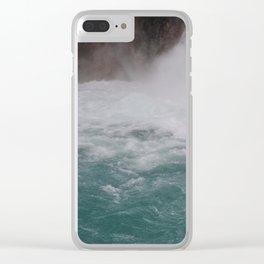 Rio Celeste Clear iPhone Case