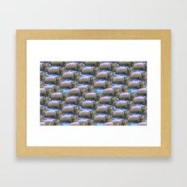 hippo squad Framed Art Print