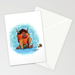 Little moster II Stationery Cards
