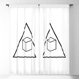 Delta Cubes Blackout Curtain