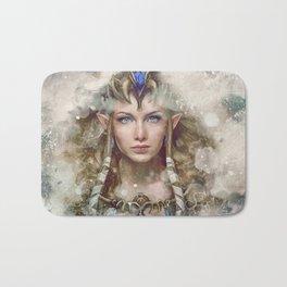 Epic Princess Zelda from Legend of Zelda Painting Bath Mat
