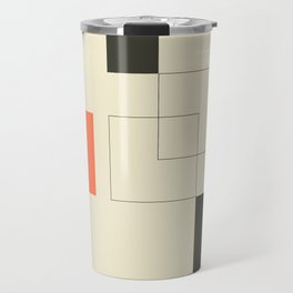 Geometric Abstract Art Travel Mug