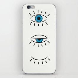 Summer Evil Eyes iPhone Skin