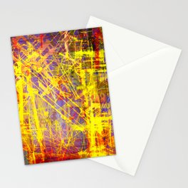 the city 9a Stationery Cards