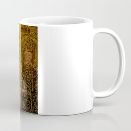 Mosaic Mary and Jesus Coffee Mug
