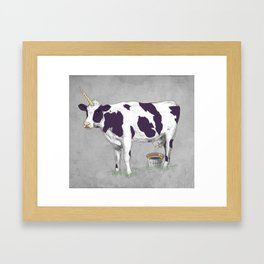 UNICOWRN Framed Art Print