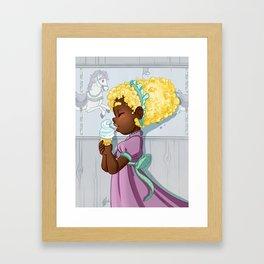 Popcorn Carousel Framed Art Print
