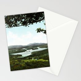 Lower Saranac Lake, Adirondack Mountains, New York, 1902 Stationery Cards