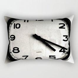 Four Nineteen Clock Rectangular Pillow