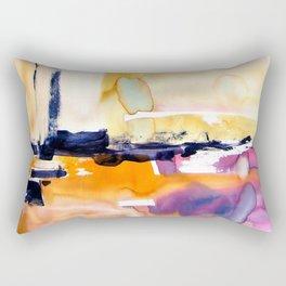 Landscape with Argonauts - Abstract 0028 Rectangular Pillow