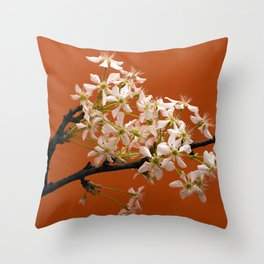 Spring bloom -2 Throw Pillow