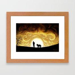 The Same Sun Framed Art Print