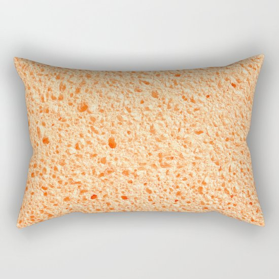 Sponge surface Rectangular Pillow