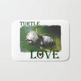 Turtle Love Bath Mat