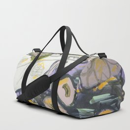 Feather & Flowers Duffle Bag