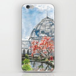 Detroit Belle Isle Conservatory iPhone Skin