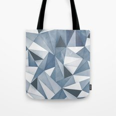 Try Angles Blue Tote Bag