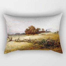 Charles Ethan Porter Autumn Landscape Rectangular Pillow
